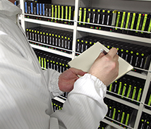 データ復旧の最新設備